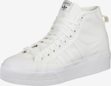 ADIDAS ORIGINALS High-Top Sneakers 'Nizza' in White