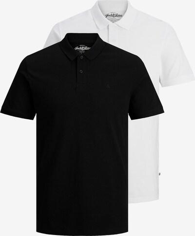 JACK & JONES Koszulka w kolorze czarny / białym, Podgląd produktu
