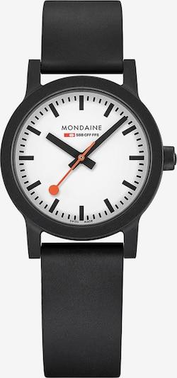 Mondaine Unisex-Uhren Analog Quarz ' ' in schwarz, Produktansicht