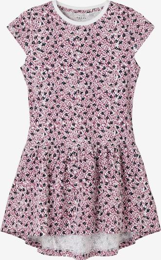 NAME IT Kleid 'Vigga' in rosa / rosé / schwarz / weiß, Produktansicht
