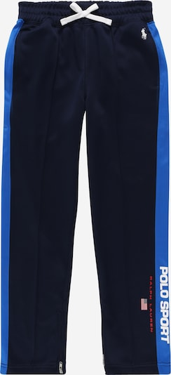 POLO RALPH LAUREN Trousers in navy / royal blue / red / white, Item view