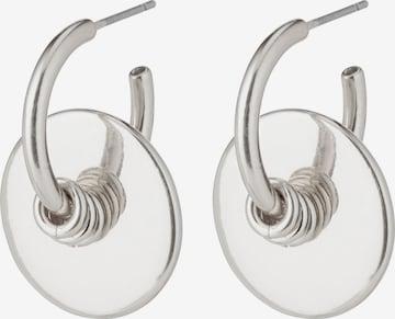 Pilgrim Øredobber 'Clarity' i sølv