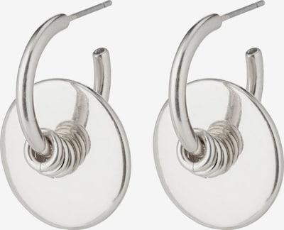 Cercei 'Clarity' Pilgrim pe argintiu, Vizualizare produs