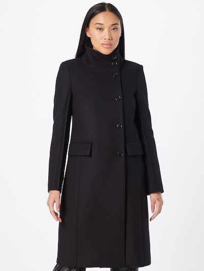 Palton de primăvară-toamnă PATRIZIA PEPE pe negru, Vizualizare model