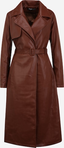 Missguided Tall Mantel in Brown
