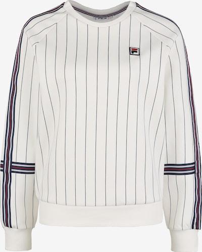 FILA Sportief sweatshirt in de kleur Crème / Blauw / Rood, Productweergave