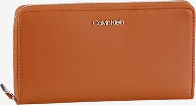 Calvin Klein Geldbörse in cognac, Produktansicht