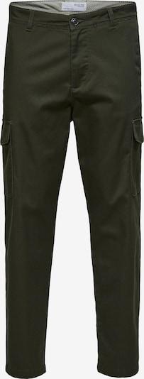SELECTED HOMME Cargobukser i mørkegrøn, Produktvisning