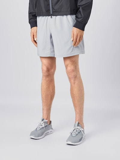 UNDER ARMOUR Sportbroek 'Speed Stride 7' in de kleur Lichtgrijs: Vooraanzicht