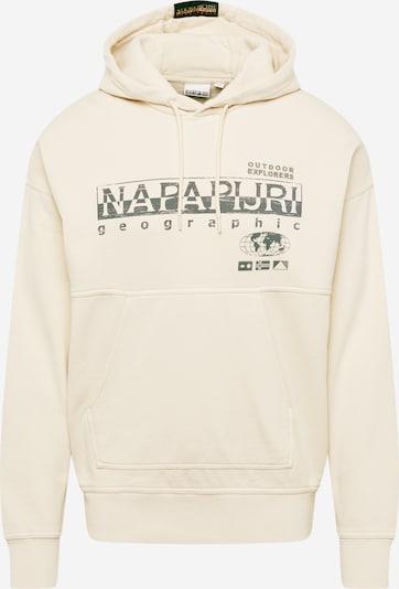 NAPAPIJRI Sweater majica 'BEB' u boja slonovače / siva, Pregled proizvoda