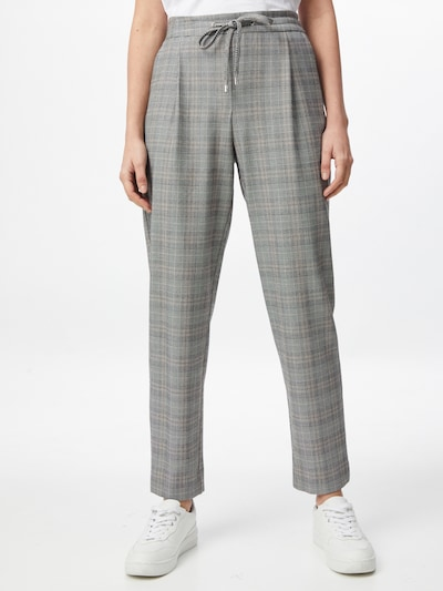 Dorothy Perkins Kalhoty s puky - šedá / černá, Model/ka