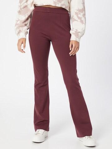 VERO MODA Bukse 'KAMMA' i rød
