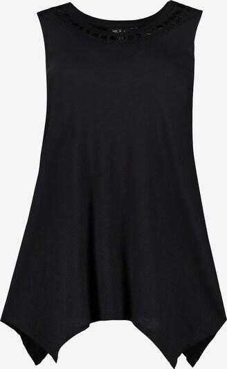 Ulla Popken Top in de kleur Zwart, Productweergave