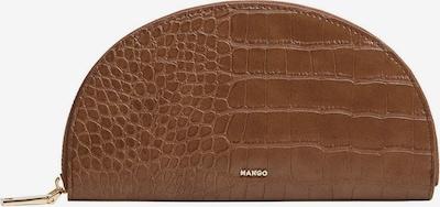 MANGO Porte-monnaies 'Mesana' en marron, Vue avec produit
