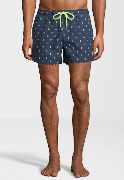 North Sails Badeshorts 'All-Over Volley' in navy, Produktansicht