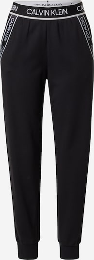 Calvin Klein Performance Sporta bikses melns / balts, Preces skats