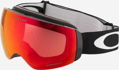 OAKLEY Sportbrille 'Flight Deck' in rot / schwarz, Produktansicht