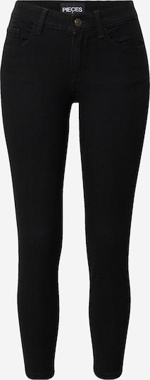 Jeans 'PEGGY' Pieces (Petite) pe denim negru, Vizualizare produs