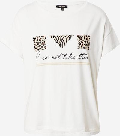 MORE & MORE Shirt in beige / braun / schwarz / offwhite, Produktansicht