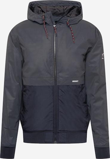 Iriedaily Jacke in dunkelgrau / schwarz, Produktansicht