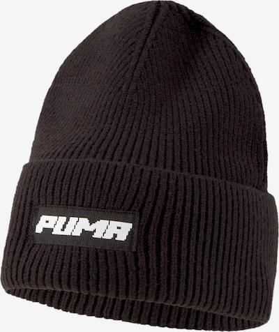 PUMA Sportmuts 'Evolution Trend' in de kleur Zwart / Wit, Productweergave