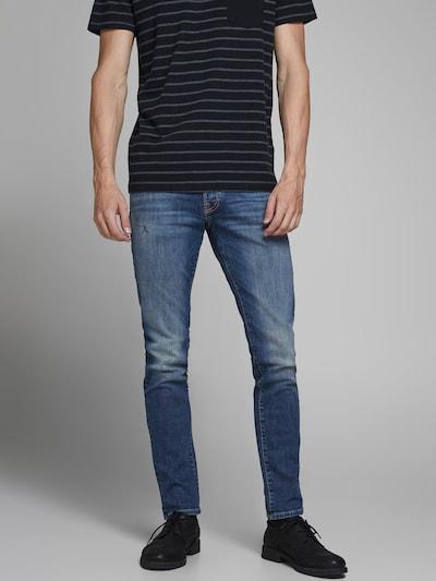 JACK & JONES Jeans 'JJIGLENN' in blue denim, Modelansicht