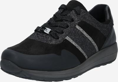 ARA Baskets basses en gris / noir, Vue avec produit