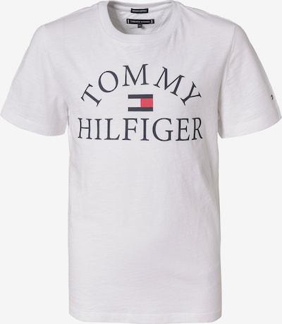 TOMMY HILFIGER T-Shirt in kobaltblau / rot / weiß, Produktansicht