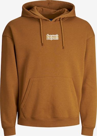 JACK & JONES Sweatshirt in karamell, Produktansicht