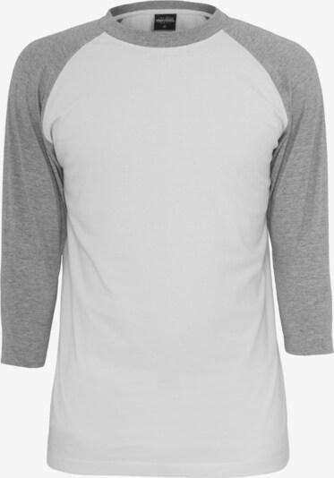 Urban Classics Shirt in de kleur Grijs / Wit, Productweergave