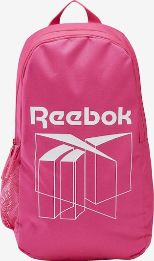 Reebok Classic Rucksack in pink / weiß, Produktansicht