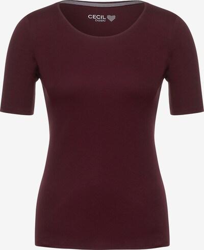 CECIL T-Shirt in lila / dunkelrot, Produktansicht
