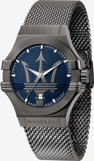 Maserati QUARZ 'POTENZA 42MM' in blau, Produktansicht