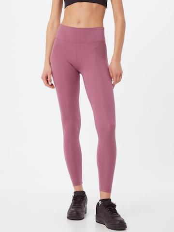 rožinė NIKE Sportinės kelnės