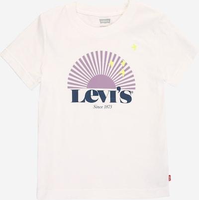 LEVI'S Shirt in de kleur Blauw / Geel / Lichtlila / Wit, Productweergave