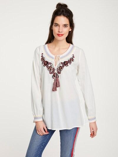 heine Tunika in mischfarben / weiß, Modelansicht