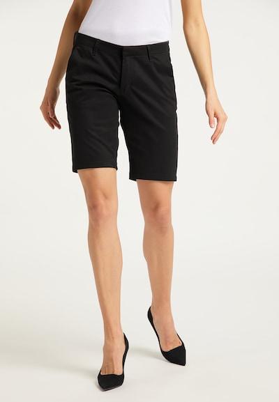DreiMaster Klassik Shorts in schwarz, Modelansicht