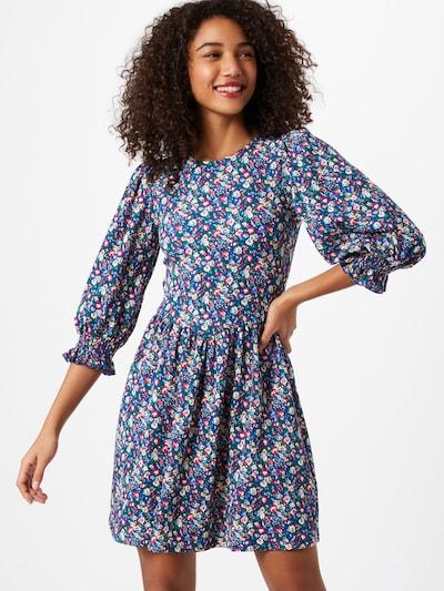Miss Selfridge Kleid 'DITSY' in blau / mischfarben, Modelansicht