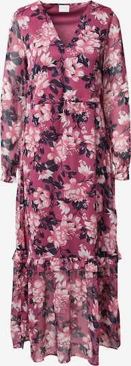 VILA Kleid 'FALIA' in tanne / lila / weiß, Produktansicht