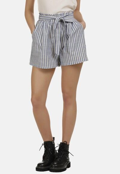 DreiMaster Vintage Shorts in blau / weiß, Modelansicht
