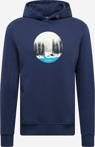 GREENBOMB Sweatshirt in Blau