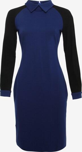 Madam-T Kleid 'AVIRA' in blau / schwarz, Produktansicht