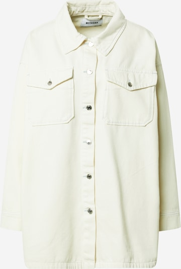 WEEKDAY Блуза 'Renja' в бяло, Преглед на продукта
