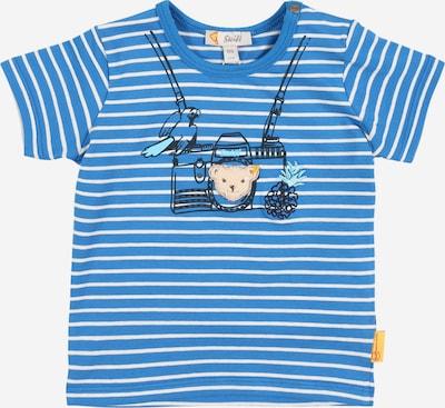 Steiff Collection Camiseta en azul / blanco, Vista del producto