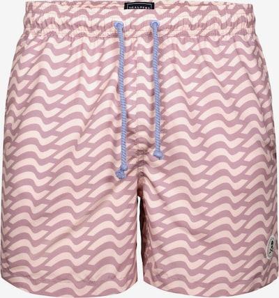 Scalpers Shorts de bain en rosé / rose pastel, Vue avec produit