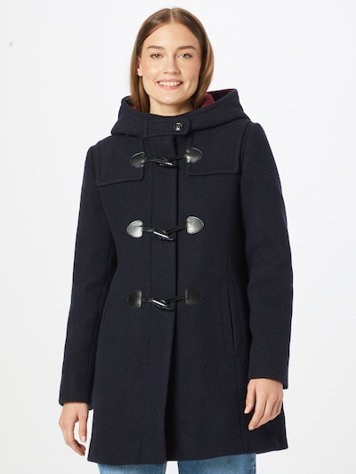 GIL BRET Ανοιξιάτικο και φθινοπωρινό παλτό σε σκούρο μπλε, Άποψη μοντέλου