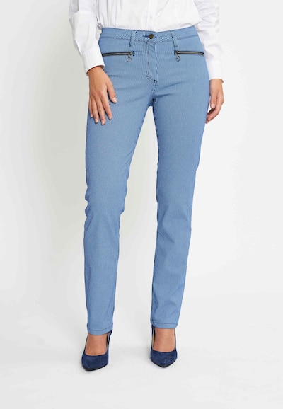 LauRie Jeans 'Charlotte' in de kleur Blauw, Modelweergave