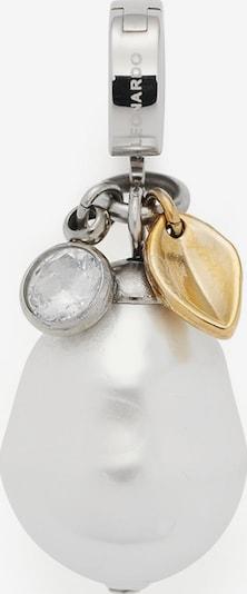 LEONARDO Anhänger in gold / silber / weiß, Produktansicht