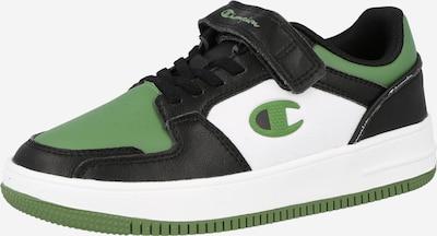 Champion Authentic Athletic Apparel Sneaker 'REBOUND' in grün / schwarz / weiß, Produktansicht