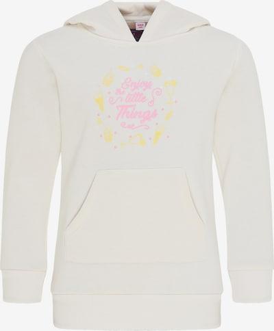 myMo KIDS Bluzka sportowa w kolorze limonkowy / jasnoróżowy / białym, Podgląd produktu